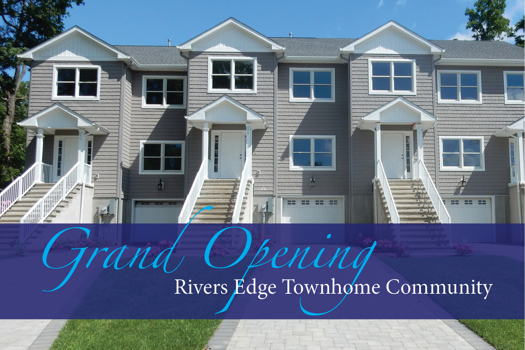 Rivers Edge Grand Opening Graphic